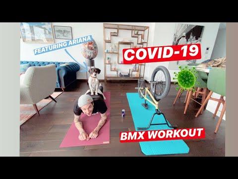 Matthias Dandois / Covid-19 BMX Workout