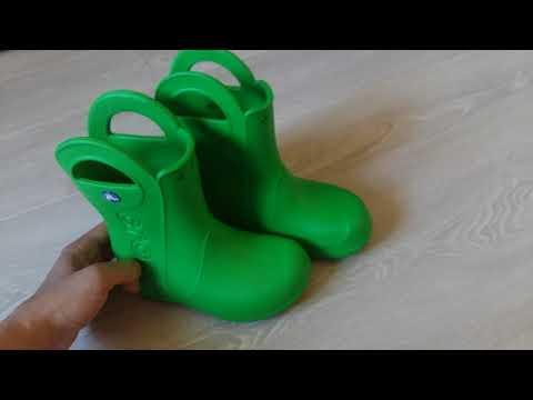 Оригинальные резиновые сапоги Crocs