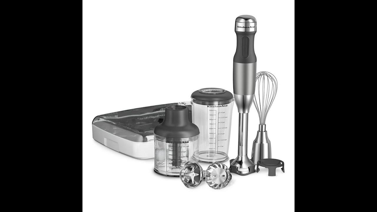 Kitchenaid Hand Mixer 5 Speed review: kitchenaid khb2561cu 5-speed hand blender - contour silver