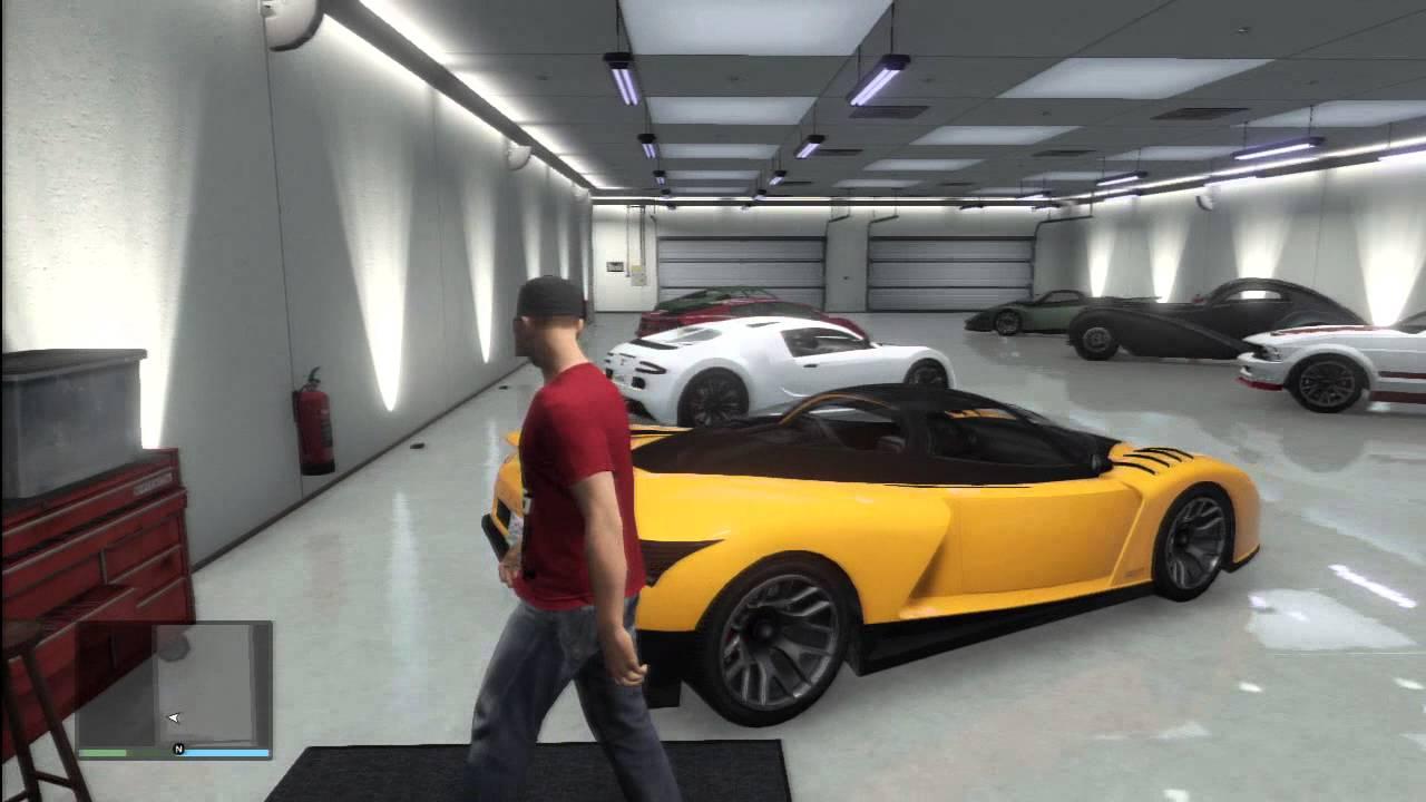 GTA V : My Garage cool cars - YouTube