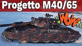 WŁOSKA X - EPICKA BITWA - Progetto M40 mod. 65 - World of Tanks