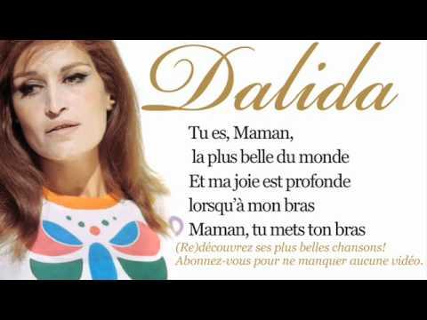 Dalida - Maman, la plus belle du monde - Paroles (Lyrics)
