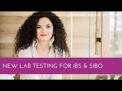 New Lab Testing for IBS & SIBO - Dr. Jolene Brighten