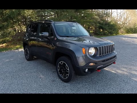 2016 jeep renegade trailhawk 4x4 new jeep dealership 16555 youtube. Black Bedroom Furniture Sets. Home Design Ideas
