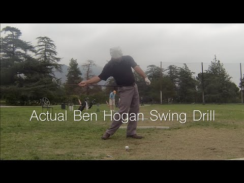 MSE Hogan Drill, Grip Adjustment, Best Ball Striking Ever!