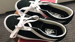 Vans — Bold ni —black Friday pick up unboxing/onfeet/review