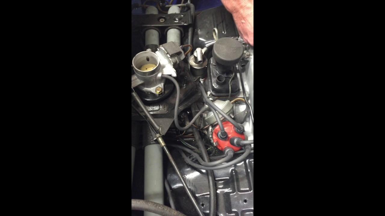 Auto Atlanta 1976 Porsche 914 Engine Compartment Tour 1973 Fuel Pump