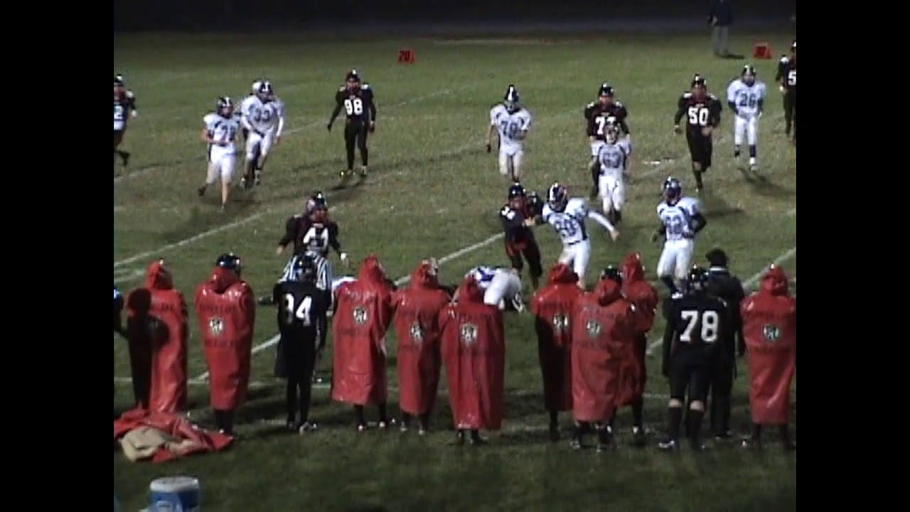 Ticonderoga - Tupper Lake Football Highlights  10-15-10
