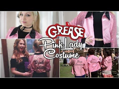 DIY   Grease Pink Lady Halloween Costume