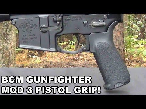 BCM Gunfighter Mod 3! Bravo Company's Latest Pistol Grip