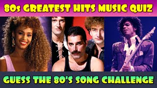 Can You Guess These 25 Popular 80s Songs?
