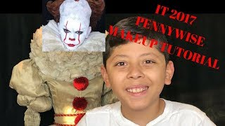 IT 2017 Pennywise Clown Makeup Tutorial| Makeup by Vicki
