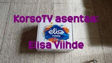 KorsoTV asentaa Elisa Viihteen
