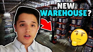 New Warehouse For A NEW PROJECT!