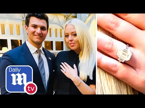 Tiffany Trump billionaire fiance proposes with $1.2m ring