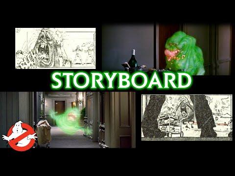 Meet Slimer | Storyboarding the Scene | GHOSTBUSTERS