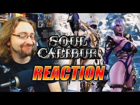 MAX REACTS: Ivy & Zalasamel Reveal - Soul Calibur 6