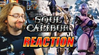 MAX REACTS: Ivy & Zasalamel Reveal - Soul Calibur 6