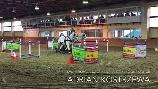 Adrian Kostrzewa; Kwalifikacja Cavaliada 2017/18; Bogusławice