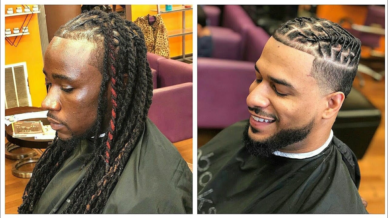 Loc Retwist Dreadlocks Styles For Men By The Grooming Artist Compilation 2 Youtube