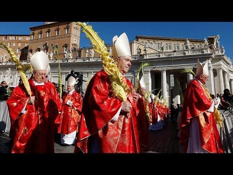 Rước Lá tại Vatican Chúa Nhật Lễ Lá 20/03/2016