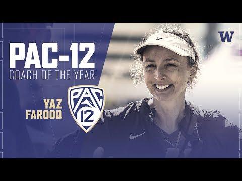 Rowing: Yasmin Farooq named Pac-12 Women's Rowing Coach of the Year