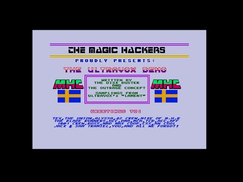 The Ultravox Demo by The Magic Hackers, 1988 | Atari ST | 1440p/50fps