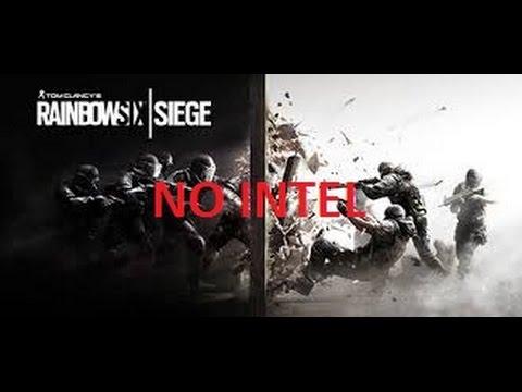 3 stars in No Intel - Rainbow six siege   (8th Situation )