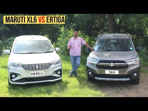 Maruti Suzuki Ertiga Vs XL6 Comparison - Most Detailed