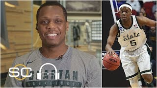 Michigan State's Cassius Winston defends coach Tom Izzo's emotions on the court | SC with SVP