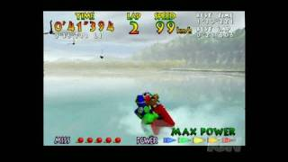 Wave Race 64 Video Gameplay - Wave Race 64 (Nov. 1996)