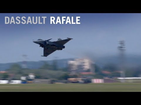 Dassault's Rafale Fighter Performs Validation Flying Display at Paris Air Show 2017 - AINtv Express