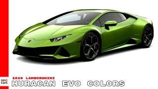2020 Lamborghini Huracan EVO Colors