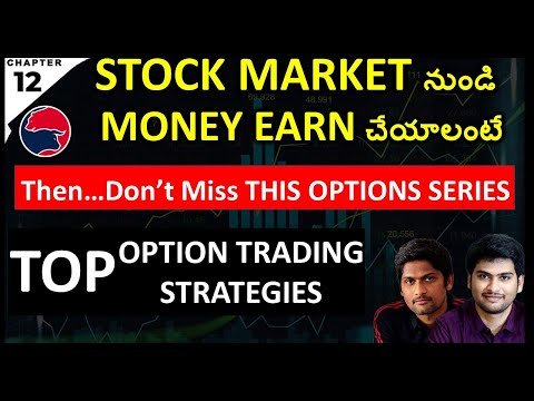 Top Option Trading Strategy Complete List By Daytradertelugu   stock market free course