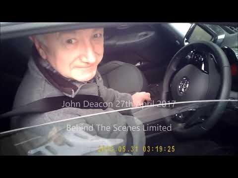 John Deacon (ex Queen bassist) Signing Autographs 2017