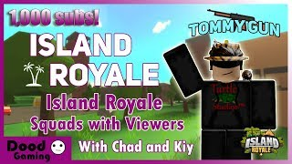🔴 [Live] Roblox Island Royale VIP Scrims & Mini Games with Viewers [NEW TOMMY GUN] 🔴