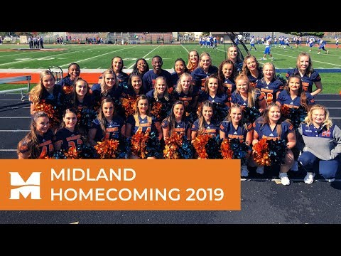 2k19 HOCO Halftime   Midland University Dance Team