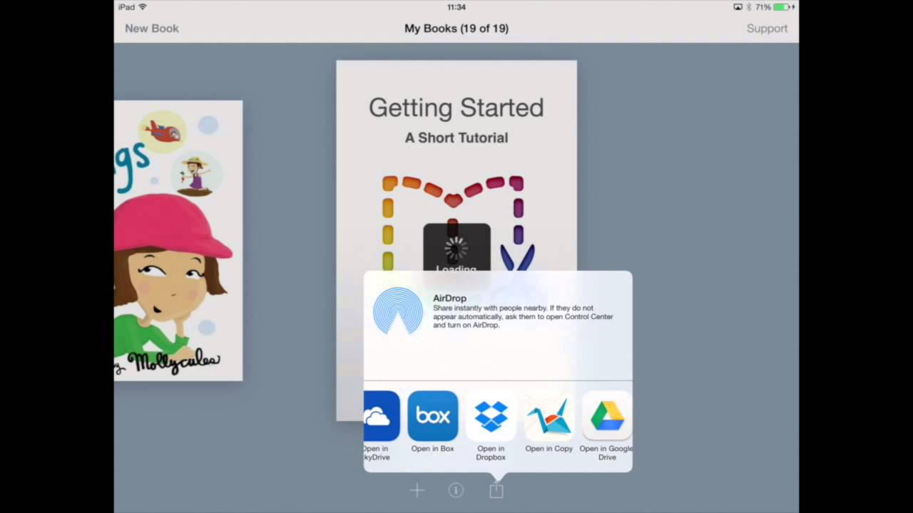 How to share your book using Dropbox – Book Creator Support