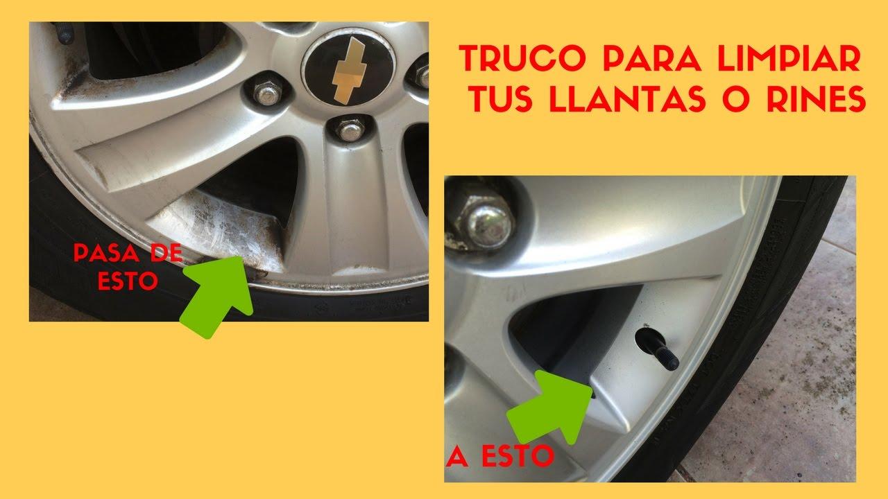 Como limpiar llantas de aluminio youtube - Pulir llantas de aluminio a espejo ...