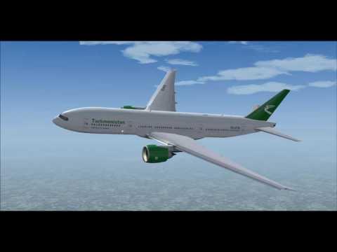 Turkmenistan Airlines T5605 777-200LR EZ-A778 Ashgabat (ASB) - Beijing (PEK)