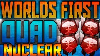 WORLDS FIRST QUAD NUCLEAR ON BLACK OPS 2!