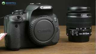 Розпакування Canon EOS 650D 18-55mm IS II Kit