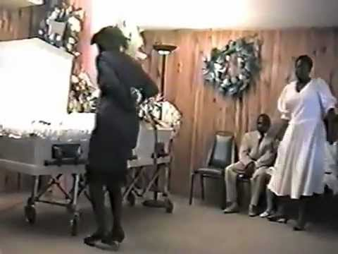 Haitian Grandma Goin Crazy At A Funeral!