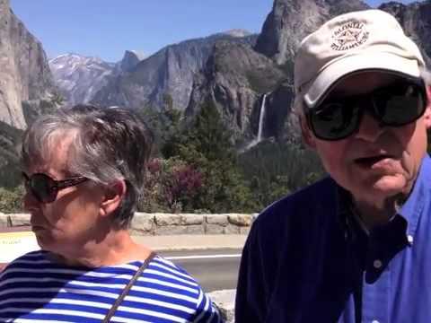 Yosemite with Mom & Dad April 2013