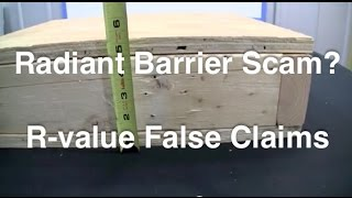 Radiant Barrier - False Claims About 11 R-Value By Other Products Thumbnail