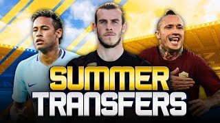 Summer transfers! w/ bale could leave madrid this summer! - fifa 18 ultimate team