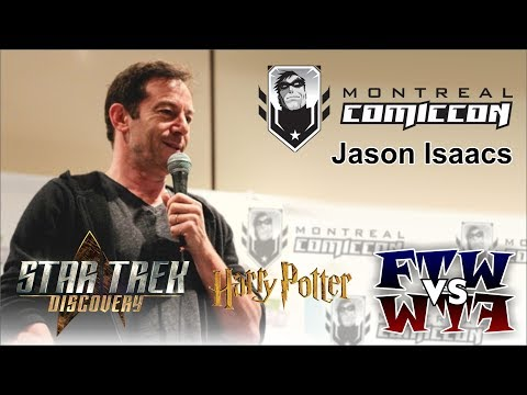 Jason Isaacs Harry Potter, Star Trek: Discovery, The OA  Montreal ComicCon Panel