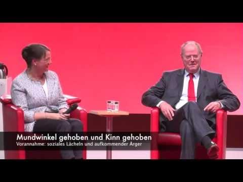 facecoaching - Analyse: Gertrud und Peer Steinbrück im Gespräch mit Bettina Böttinger