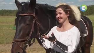 Конная стрельба из лука в России. Horseback archery in Russia