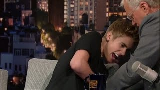 David Letterman Disses Justin Bieber!
